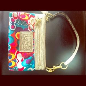 Coach Poppy Wristlet - Large - Multicoloured